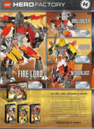 HERO FACTORY - Fire Villains (Prototype)
