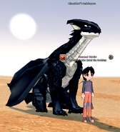 Chronicler and Dragora (Young)