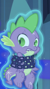 Spike Chained Up
