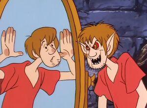Shaggy captive in Mirror