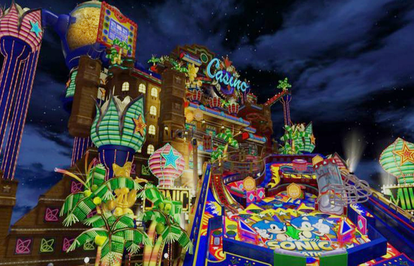 Casino Night Zone