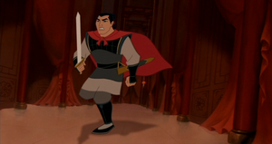 Shang go to help the Emperor