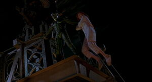The Green Goblin kidnapped Mary Jane