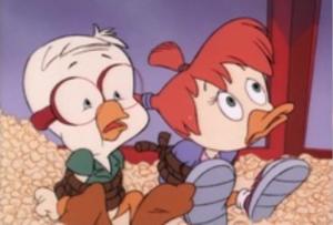 Honker and Gosalyn captured