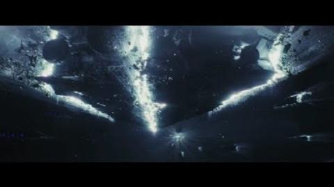 Last Jedi - ONLY Lightspeed Scene (Holdo's Sacrifice)