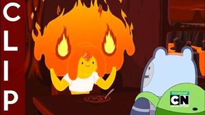 "Adventure Time - Flame Princess and Finn Moments ""Bun Bun"" CLIP"