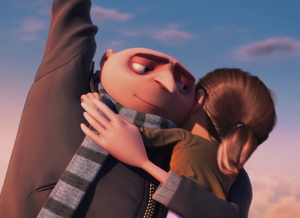 Gru revealing the angel within