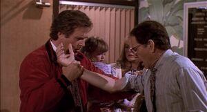 George Newton realizes no bite marks on Varnick's arm