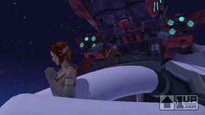 Princess Elise taken prisoner by Dr. Eggman