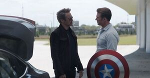 Tony Stark and Steve Rogers apologizes to each other
