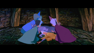 Three fairies feel guilty