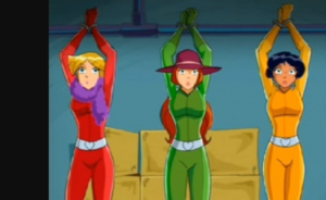 Spies captured by Helga