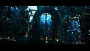 Optimus Prime held prisoner