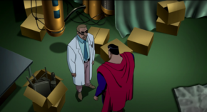 Kal-El's Now-Fully Betrayed by Professor Emil Hamilton