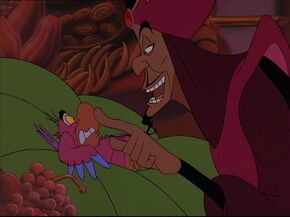 Iago no longer works for Jafar