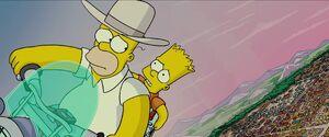 Bart apologizes to Homer