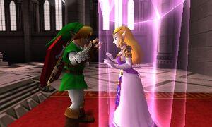 Princess Zelda Captured