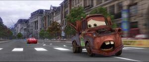 Lightning chasing Mater