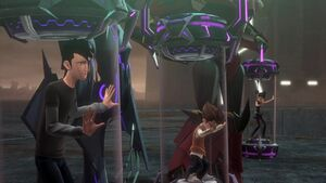 Jack, Miko, and Rafael are now Megatron's prisoners
