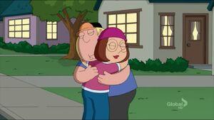 Meg and Chris reconcile