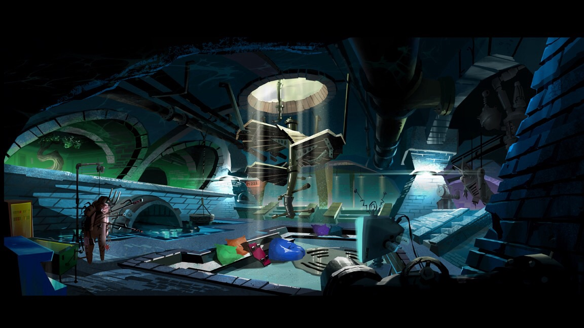 The Sewer Lair