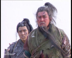 Guan Ping and his father Guan Yu are captured and later executed by Wu forces