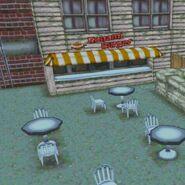 The Konami Burger Restaurant