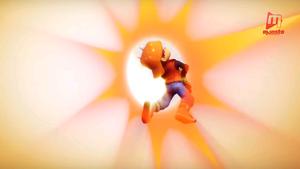 BoBoiBoy ditembak untuk menyelamatkan Cattus