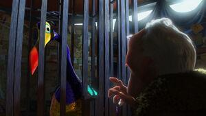 Kevin being held prisoner