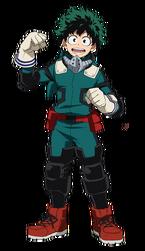 Izuku deuxième costume