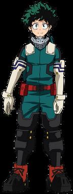 Izuku troisième costume