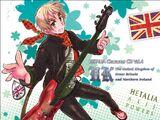 Hetalia: Axis Powers Character CD Vol. 4 — UK