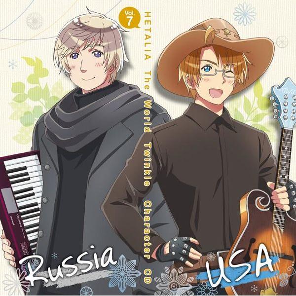 Hetalia: The World Twinkle Character CD Vol. 7 - America and Russia