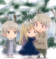 Chibi Russia, Belarus and Ukraine
