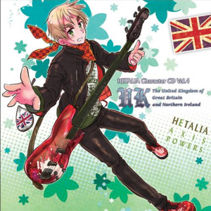 Hetalia England CD.png