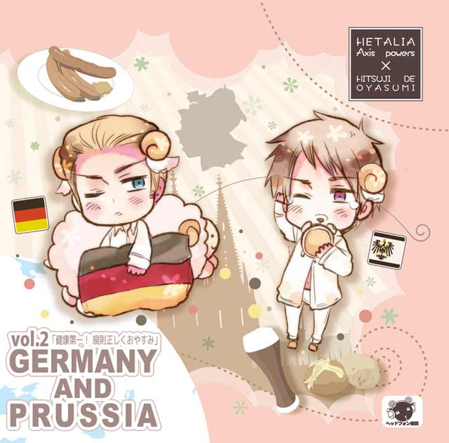 Hetalia x Goodnight with Sheep Vol. 2- Germany & Prussia
