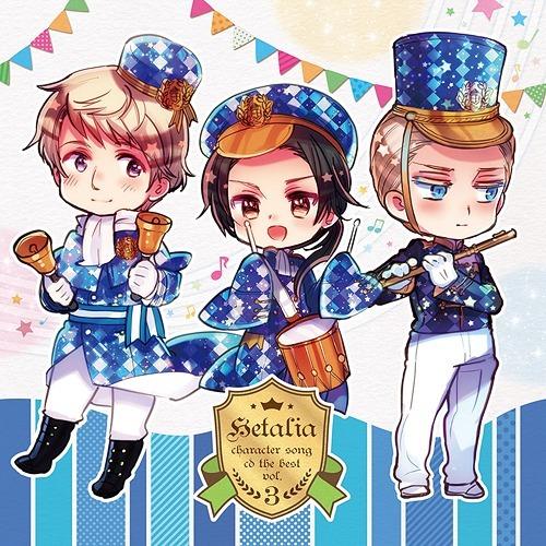 Hetalia Character Song CD The BEST Vol. 3