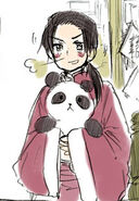 China and panda