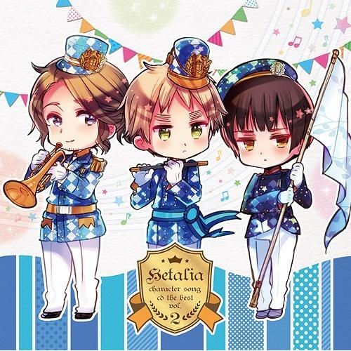 Hetalia Character Song CD The BEST Vol. 2