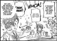 Pien-kun getting attention