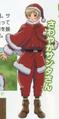 Santa Finland Anime Design
