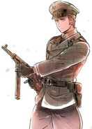German with gun