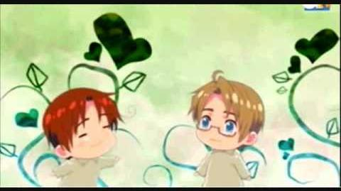 Hetalia Axis Powes- Read The Atmosphere (Italy and America)