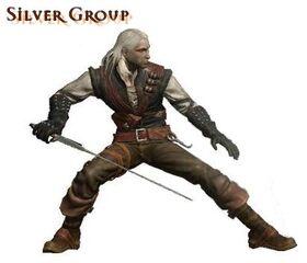 Gruppenkampfstil Silber