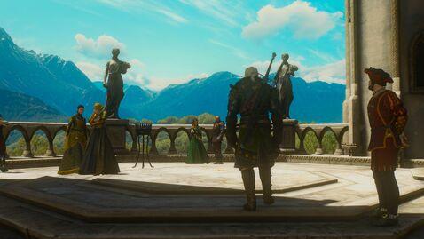 The Witcher 3 B&W Geralt&Henrietta.jpg