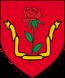 Herb Zakonu Płonącej Róży po śmierci Jakuba de Aldersberga
