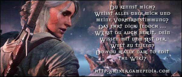 Do you really dare - traust du dich? Komm zu https://hexer.gamepedia.com