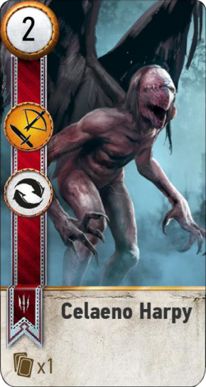 Tw3 gwent card face Celaeno Harpy.png