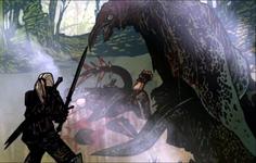 Ein Schleimling aus einem The Witcher 2: Assassins of Kings Flashback-Video