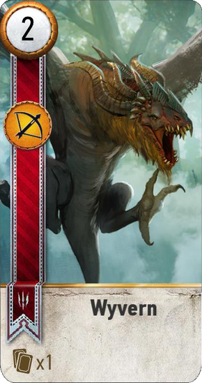 Tw3 gwent card face Wyvern.png